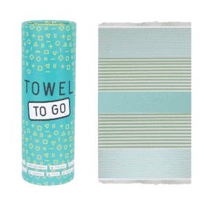 Towel to Go Bali Türkis Grün