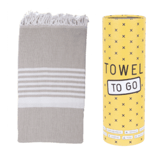 Towel to Go Madagaskar Hamamtuch Beige