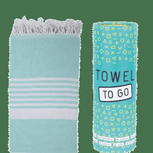 Towel to Go Madagaskar Hamamtuch Türkis