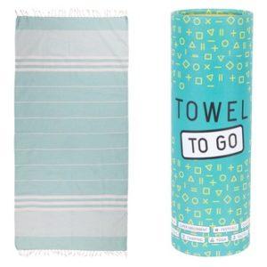 Towel to Go Malibu Hamamtuch Türkis