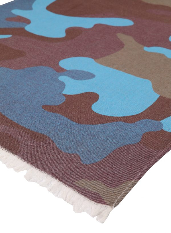 Towel to Go Camouflage Blue Brown TTGCF001 02 scaled 1