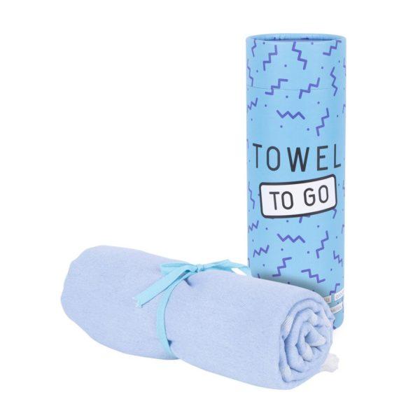 Towel to Go Elephant Blue TTGELMV 01