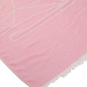Towel to Go Elephant Rose TTGELPM 03