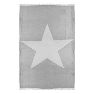 Towel to Go Ibiza Star Grey TTGSTGR 01