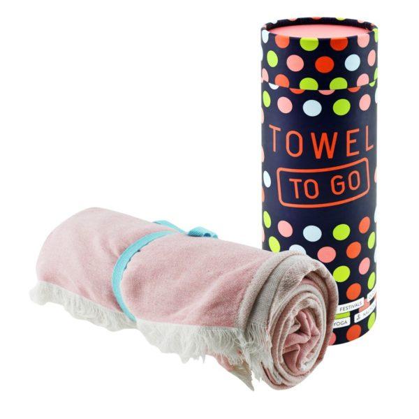 Towel to Go Ibiza Star Rose TTGSTPM 02