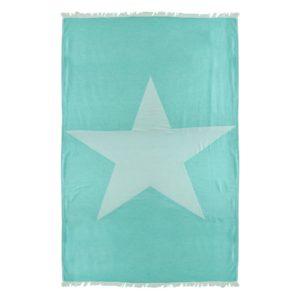 Towel to Go Ibiza Star Turquoise TTGSTTK 01
