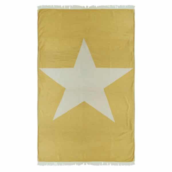 Towel to Go Ibiza Star Yellow TTGSTSR 01