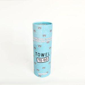 Towel to Go Kids Elephant Blue TTGKDELMV 02 1