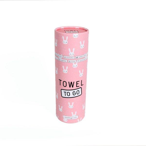 Towel to Go Kids Star Pink TTGKDSTPM 02