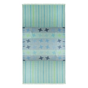 Towel to Go Kids Star Turquoise TTGKDSTTK 01 1