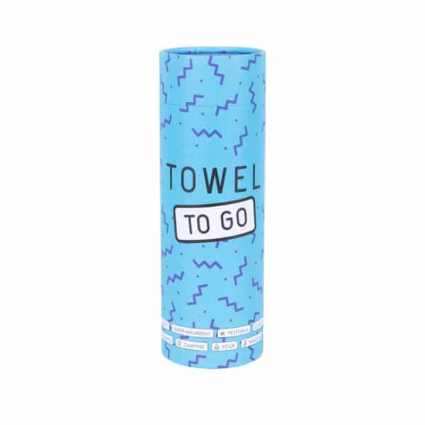 Towel to Go Malibu Blue TTGSUMV 03