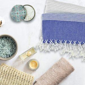 Towel to Go Malibu Blue TTGSUMV 04