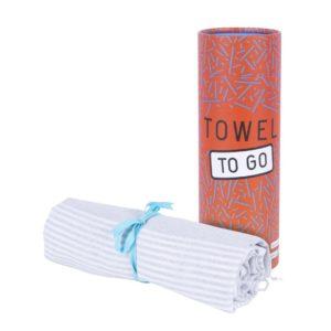 Towel to Go Malibu Grey TTGSUGR 03