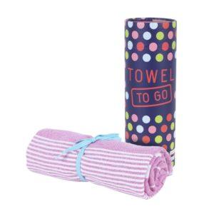 Towel to Go Malibu Pink TTGSUPM 03
