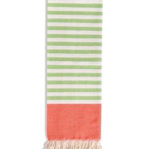 Towel to Go Neon Blue Green TTGNEON001 02