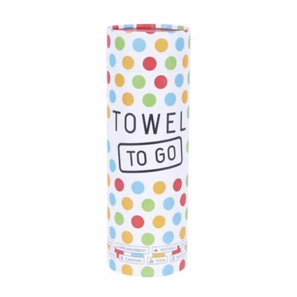 Towel to Go Neon Blue Green TTGNEON001 04