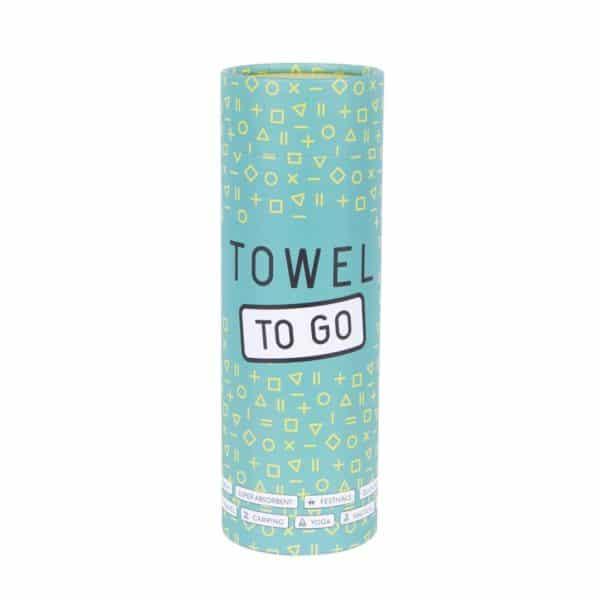 Towel to Go Neon Fuchsia Turquoise TTGNEON016 04 1