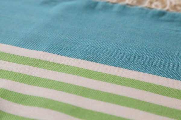 Towel to Go Neon Green Turquoise TTGNEON017 02