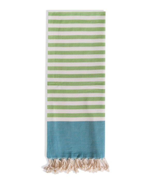 Towel to Go Neon Green Turquoise TTGNEON017 03