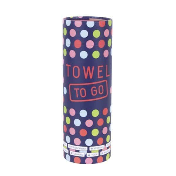 Towel to Go Neon Green Turquoise TTGNEON017 04 3