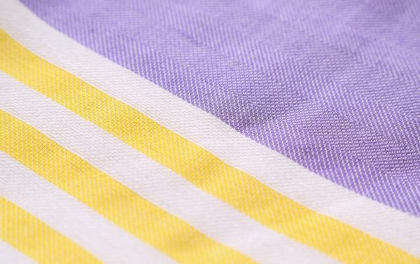 Towel to Go Neon Lila Yellow TTGNEON005 02