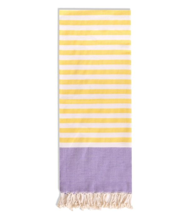 Towel to Go Neon Lila Yellow TTGNEON005 03