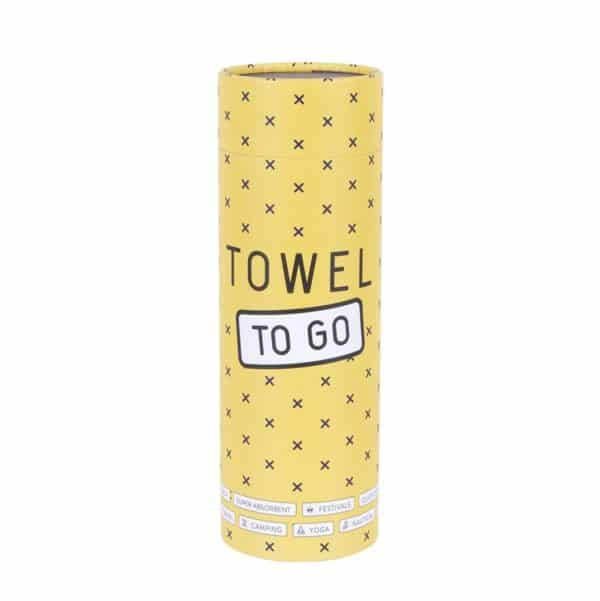Towel to Go Neon Lila Yellow TTGNEON005 04