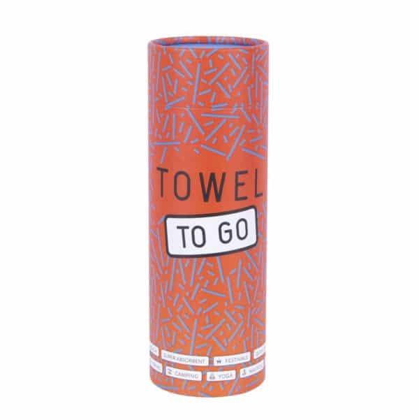 Towel to Go Neon Orange Pink TTGNEON019 04 1