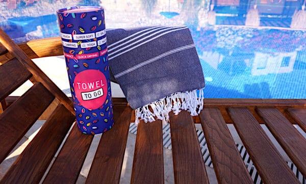 Towel to Go Ipanema Hamamtuch