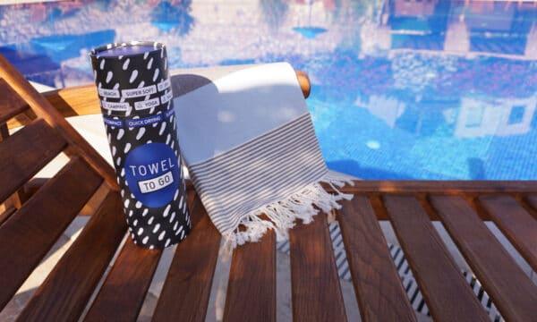 Towel to Go Palermo Hamamtuch